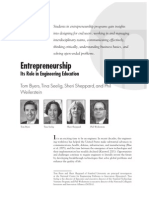 Entrepreneurship and Engineering