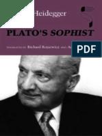 Heidegger, Martin - Plato's Sophist (Indiana, 1997)