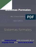 4. Sistemas formales