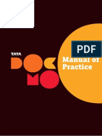 Annexure Tata DOCOMO Manual of Practice