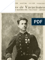 Seis años de vacaciones - Recuerdos de la Guerra del Pacífico 1879-84 - Arturo Benavides Santos