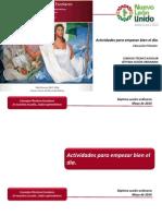 Actividades Para Empezar Bien El Dia Español