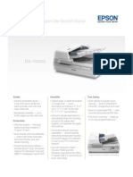 Epson DS 7000 Service Manual