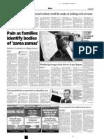 Cape Argus Reporting June-July 2009