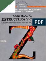 Varios - Lenguaje Estructura Y Cambio
