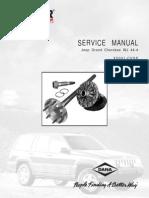 Service Manual Axle Jeep Grand Cherokee WJ 44