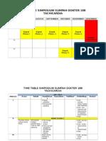 Time Table Simposium 188 - Tachicardia (Baru Acara-ilmiah-humjintrans)