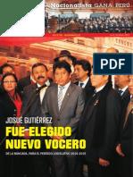 Boletín Nº 19 del Grupo Parlamentario Nacionalista Gana Perú