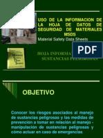 Hojas de Seguridad HDSM-MSDS.ppt