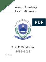 prek handbook