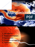 21. Reprotoxicité