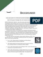 Intel Transistor Backgrounder