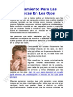 Tratamiento Para Las Moscas en Los Ojos o Miodesopsias