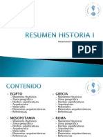 Resumen Historia i