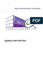 1 Signals and Spectra