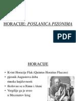 Horacije - Poslanica Pizonima