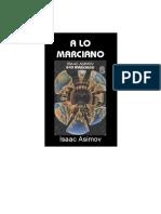 Asimov, Isaac - A Lo Marciano