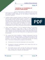 1_04 Installation of Pressure Instruments