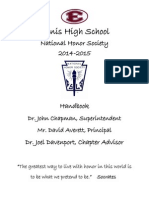nhs handbook school year 2014-2015 updated