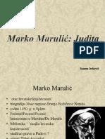 Marko Marulić - Judita