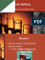 lab equipment  safety