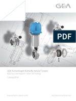 GEA Tuchenhagen - Catalog 2014 - Butterfly Valves T-smart PDF