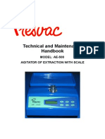 Balanza Para Extraccion de Sangre AE-500A_V2 Manual de Servicio Tecnico