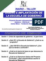 Proyecto Escuela Latinoamericana de Gobierno ESCOLAG