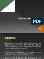 f. Trauma Abdominal