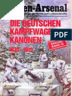 Waffen Arsenal - Special Band 16 - Die deutschen Kampfwagenkanonen 1935-1945