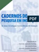 Livro IGTI 2013 - Cadernos de Pesquisa Em Inovacao - Vol 1