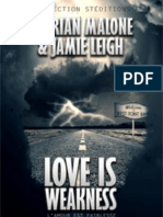 Love is Weakness PDF Epub - Kyrian Malone & Jamie Leigh