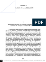 Teologia de La Liberacion Gustavo Bueno