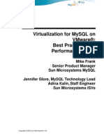 Virtualization for MySQL