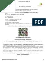 Proceso de Preinscripción SAID 2014 - 2015
