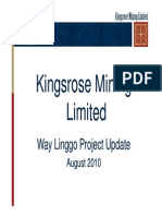 171 Way Linggo Mine and Processing Part 2