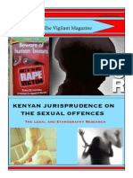 KENYAN JURISPRUDENCE ON THE SEXUAL OFFENCES - By Obar Mark