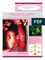 The Claws of a Rapist  - By Obar Mark