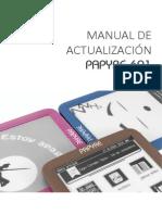 Manual Actualizacion Papyre 601