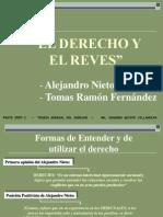 Diapositivas Tema Cinco.- El Derecho y El Revés