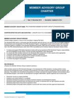 2014 Standards Member Advisory Group Charter