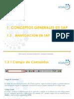 1.3 Navegacion en SAP