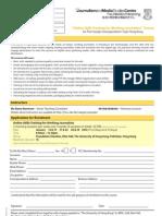 MAP Enrolment Form 2010 FCC