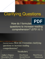 clarifying questions powerpoint
