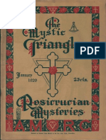 The Mystic Triangle, January 1929