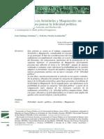 Politica y Etica en Aristoteles y Maquiavelo by Lomba