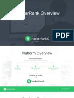 HackerRankX Overview