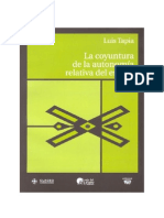 La Coyuntura de la Autonomía Relativa al Estado.pdf