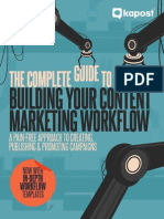 The Complete Guide to Building Your Content Marketing Workflow