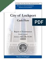 City of Lockport Cash Flow